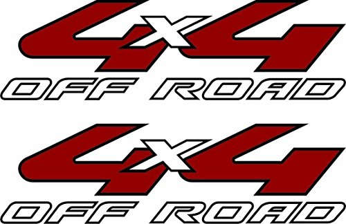 EZ CUT PRO 2 x 2007 2008 Decals Ford F150 F250 4x4 Off Road Decals Stickers F Truck Bed B2