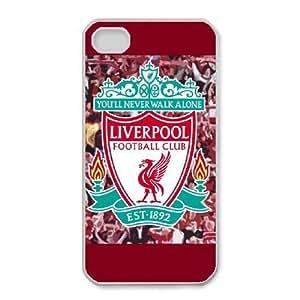 iPhone 4,4S Phone Cases White Liverpool Logo LSDE5506107