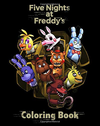 Five Nights at Freddy's Coloring Book: Coloring Books for Kids - Easy High Quality Illustrations