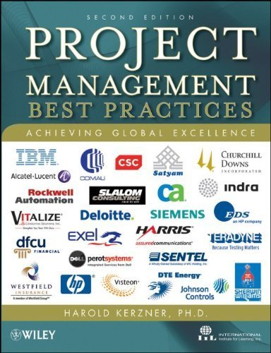 Project Management - Best Practices: Achieving Global Excellence by Harold R. Kerzner (2010-02-08)