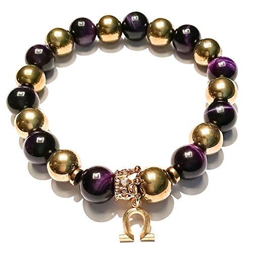 - Stonez Omega Psi Phi Beaded Bracelet