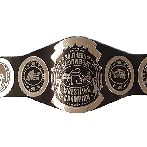 Black Friday Sale: $50 Off Southern Heavyweight Wrestling Championship Replica Belt- 7 Chrome Platted - Black Friday Off 50
