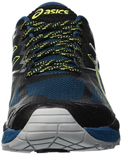 de Hombre 6 400 Gimnasia Black Gel Zapatillas Azul Asics Fujitrabuco Aqua Deep qUpwIC
