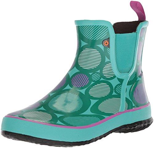 Bogs Kids Amanda Slip ON Multi DOT Rain Boot