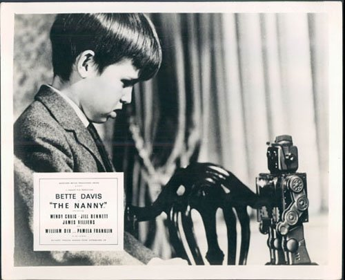 - THE NANNY BETTE DAVIS HAMMER ORIGINAL LOBBY CARD