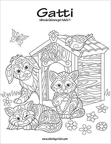 Amazonit Gatti Libro Da Colorare Per Adulti 1 Nick Snels Libri