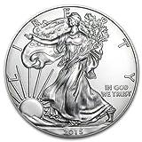 2015 - 1 oz American Silver Eagle .999 Fine Silver Dollar Uncirculated US Mint