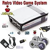 RetroBox - Raspberry Pi 3 Based Retro Game Console, 32GB Edition Black Matte case with Heatsinks Installed, RetroPie