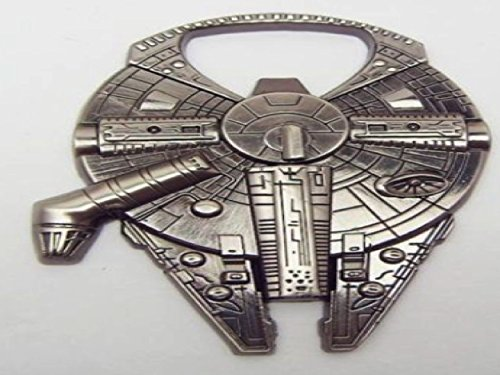 Star Wars Millennium Falcon metal alloy bottle opener (Starwars Bottle Openers compare prices)
