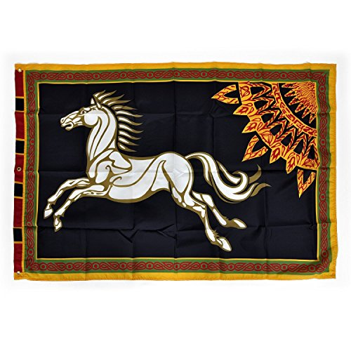 Lord Rings Black Flag Rohan product image