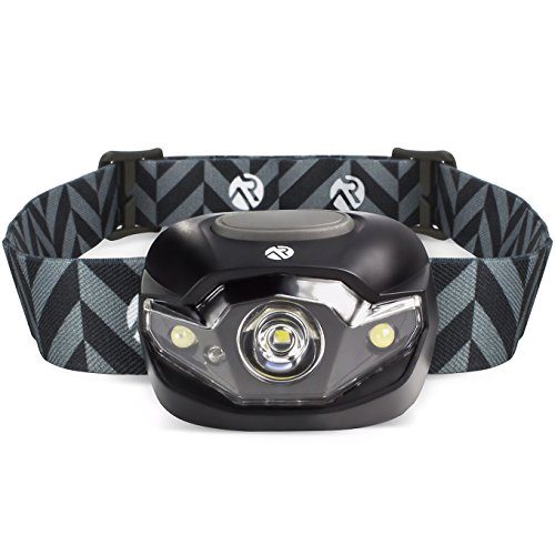 Active Research – Ultra Bright LED Headlamp Flashlight – Best LED Headlamp For Running, Hunting, Camping & Work – With White Light, Strobe Light & Red Light Modes