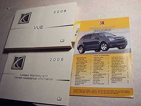 2008 saturn vue owners manual saturn amazon com books rh amazon com 2008 saturn aura xr repair manual 2008 saturn astra xr repair manual