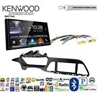 Volunteer Audio Kenwood DMX7704S Double Din Radio Install Kit with Apple CarPlay Android Auto Bluetooth Fits 2015-2017 Hyundai Sonata