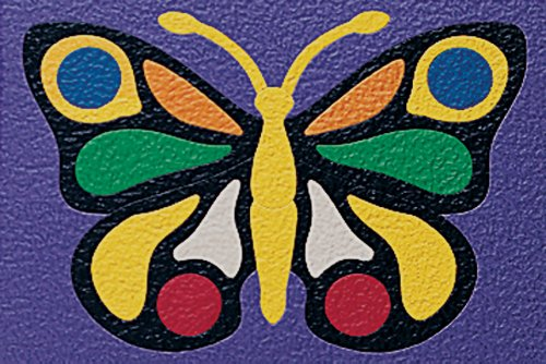 Lauri Crepe Rubber Puzzles - Butterfly