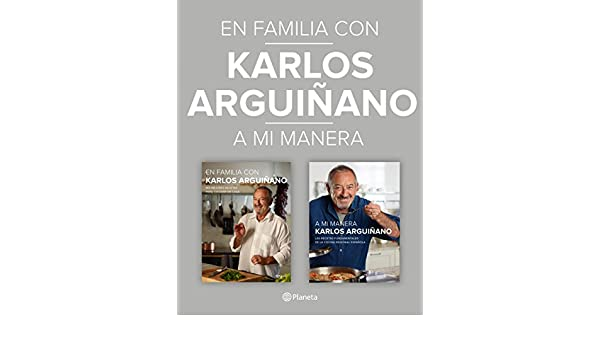 Amazon.com: En familia con Karlos Arguiñano + A mi manera (pack) (Spanish Edition) eBook: Karlos Arguiñano: Kindle Store