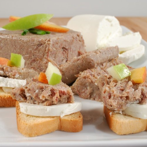 - Rillettes du Perigord - Duck Meat Pate - All Natural - 1 x 7.0 oz