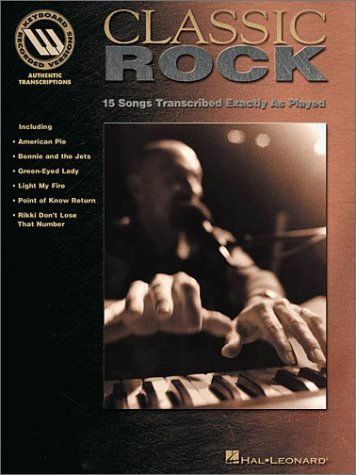 Classic Rock - Keyboard Recorded Versions