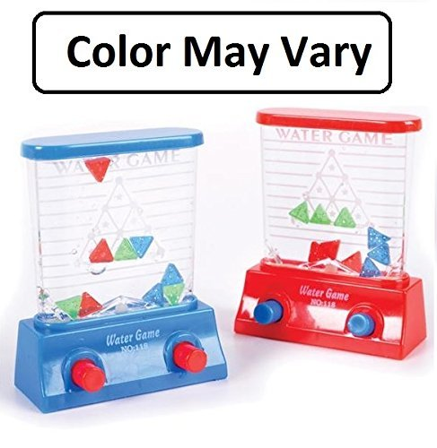 - Katzco Water Game - Triangle - Red and Blue, 2 Pack Color May Vary - for Kids of All Ages Kids, Teens, Adults, - Great Party Favor, Hours of Fun, Filled with Liquid - Made with Plastic