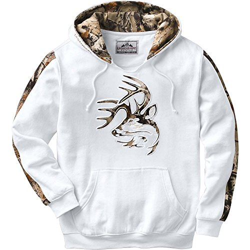 Legendary Whitetails Mens Outfitter Hoodie Frost XX-Large Tall