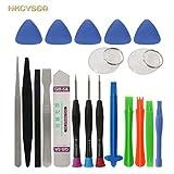 HKCYSEA 20 in 1 Screwdriver Set Mobile Phone Repair Tools Kit Spudger Pry ...
