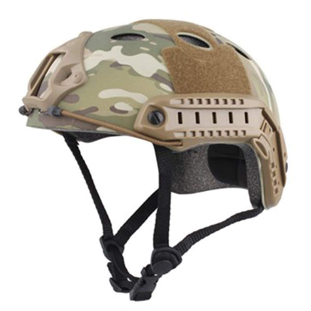 DRAGDE Cheap Version of Tactical Helmet, Outdoor CS Live-Action Game Combat Equipment, Military Enthusiasts Outdoor Riding Helmet