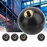 5pcs Bakelite Ball Knobs, Built-in Copper Nut Ball