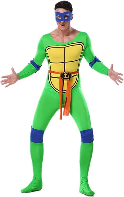 QQWE Disfraz Tortugas Ninja Cosplay del Traje Adulto Carnaval ...