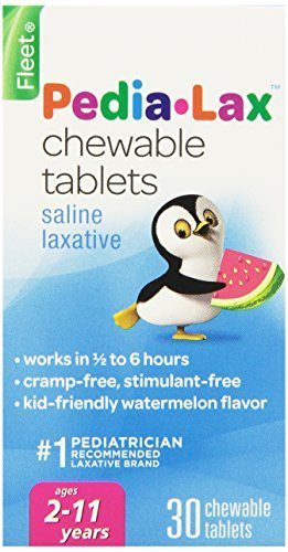 Pedia-Lax Children's Saline Laxative Chewable Tablets, Watermelon, 30 Tablets by -