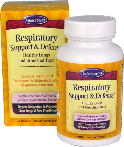 Nature's Secret Respiratory Support & DefenseT -- 60 Tabl...