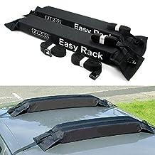 TIROL® Universal Auto Soft Car Roof Rack Carrier Luggage Easy Rack( 2 Piece)