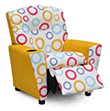 Spa Fiesta - Yellow Suede Kids Recliner 644349