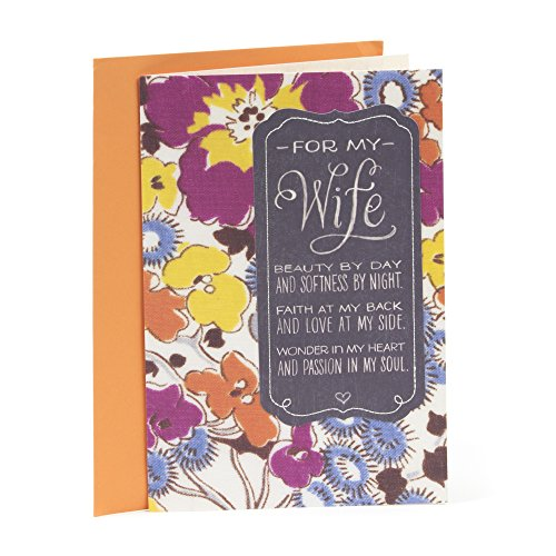 Hallmark Mahogany Birthday Greeting Card for Wife (Everything I've Ever Wanted)