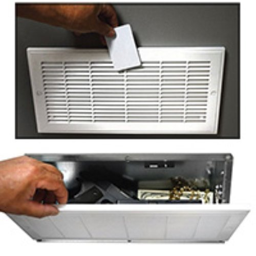 Fake Air Vent Electronic Diversion Wall Gun Safe with RFID Access Card Keys