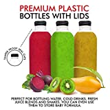 Stock Your Home 16 Ounce Plastic Bottles with