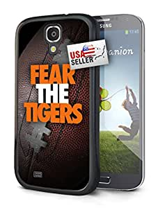 Fear the Tigers Sports Hard Glossy Plastic Cell Phone Case for Samsung Galaxy S5