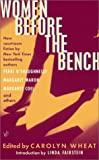 img - for Women Before the Bench book / textbook / text book