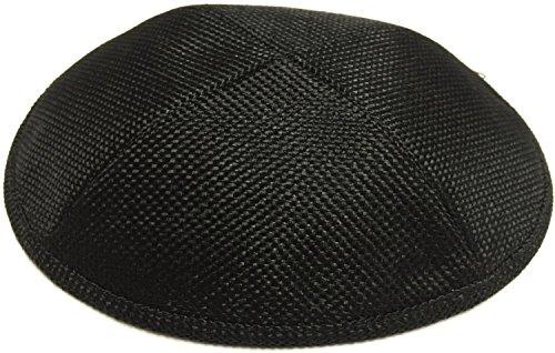 A1 Skullcap Burlap Fabric Kippot Single or Bulk Kippah Optional Custom Imprinting Inside for Your Speacial Event by A1 Skullcap