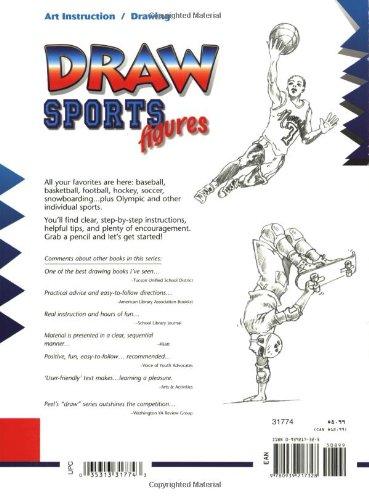 Draw Sports Figures Learn To Draw Damon Reinagle 9780939217328