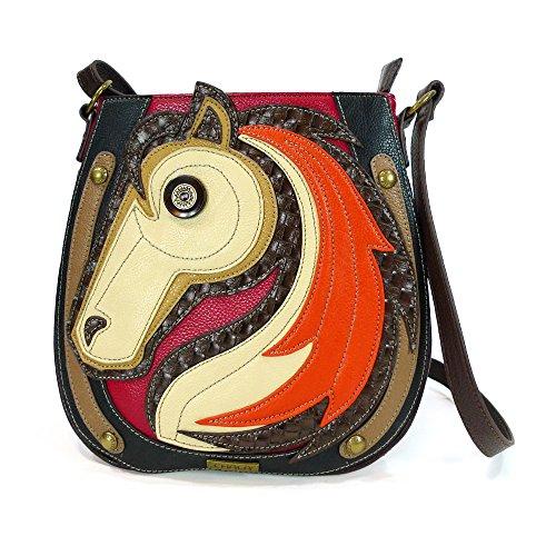 (Chala Deluxe Messenger Bag - 818 (Horse))