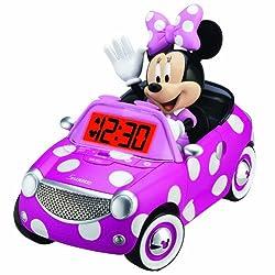 Minnie Mouse Alarm Clock, pink