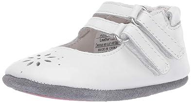 37c2cfcfaf3 Robeez Girls  Mary Jane-Mini Shoez Crib Shoe Audrey White 6-9 Months