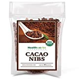 Healthworks Cacao Nibs Raw Organic (32 Ounces / 2 Pound) | Unsweetened Chocolate Substitute | Certified Organic | Keto, Vegan & Non-GMO | Antioxidant Superfood | Peruvian Bean/Nut Origin