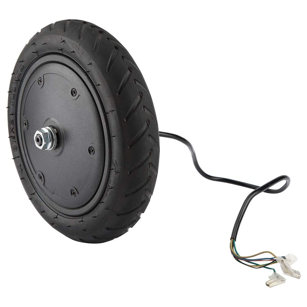 Delaman 350W Motor Wheel Tire for Xiaomi M365 Electric Scooter Tyre Replacement Part Accessory