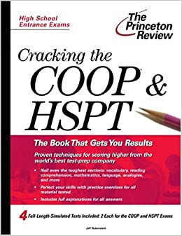 Cracking the COOP/HSPT (Private Test Preparation)