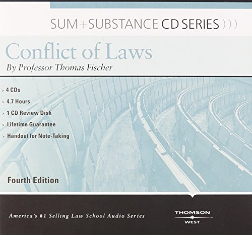 Sum and Substance Audio on Conflict of Laws