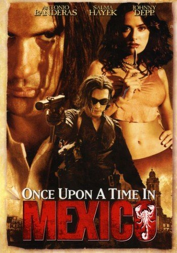 Amazon.com: Once Upon a Time in Mexico: Antonio Banderas ...