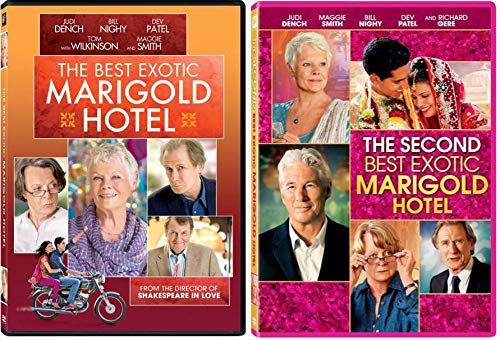 The Best Exotic Marigold Hotel & The Second Best Exotic Marigold Hotel 1 & 2 DVD Pack
