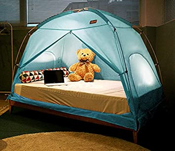TQUAD Floorless Indoor Privacy Tent on Bed for Insulation Warm Sleep in Drafty Room Saves on & TQUAD Floorless Indoor Privacy Tent on Bed for Insulation Warm ...