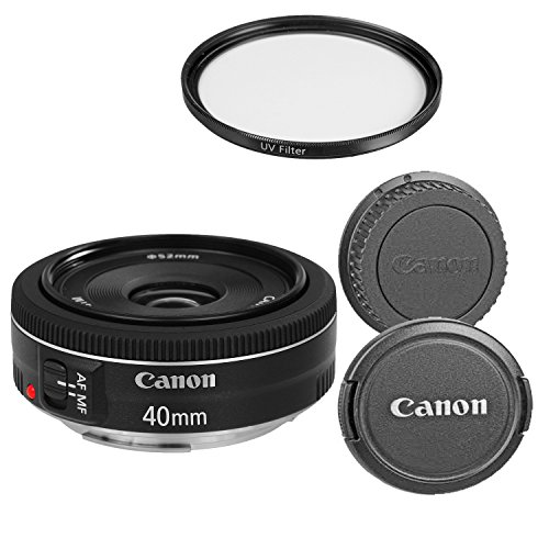 Canon EF 40mm f/2 8 STM Lens - Fixed (Certified Refurbished)