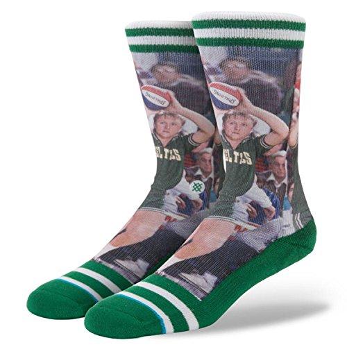 Stance Men's Larry Bird 2 Socks Large/X-Large Green